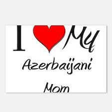 I Love My Azerbaijani Mom Postcards (Package of 8)