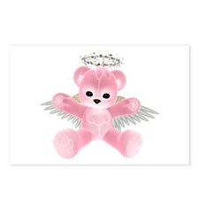 PINK ANGEL BEAR Postcards (Package of 8)