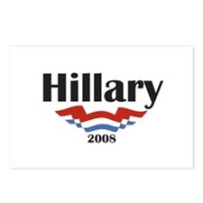 Hillary Patriotic Postcards (Package of 8)