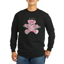 PINK ANGEL BEAR T