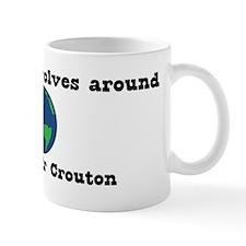 World Revolves Around Mr Crou Mug