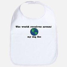 World Revolves Around Zoe Bib