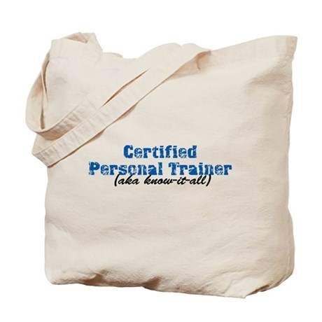 Certified Personal Trainer nta Tote Bag