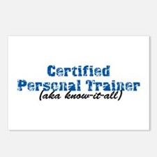 Certified Personal Trainer nta Postcards (Package