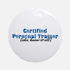 Certified Personal Trainer nta Ornament (Round)