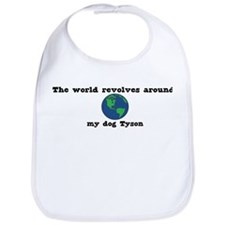 World Revolves Around Tyson Bib