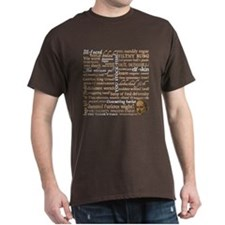 Shakespeare Insults T-Shirt