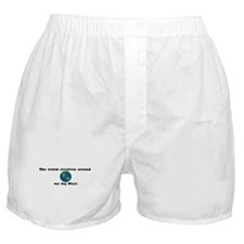 World Revolves Around Maya Boxer Shorts