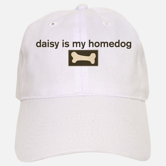Daisy is my homedog Baseball Baseball Cap