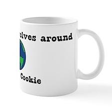 World Revolves Around Cookie Mug