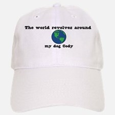 World Revolves Around Cody Baseball Baseball Cap