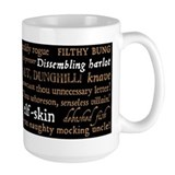 Shakespeare insults Large Mugs (15 oz)
