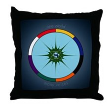 Funny Unity Throw Pillow