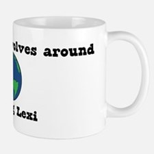 World Revolves Around Lexi Mug