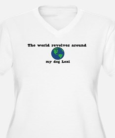World Revolves Around Lexi T-Shirt