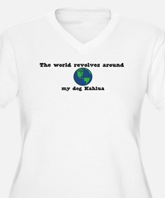 World Revolves Around Kahlua T-Shirt