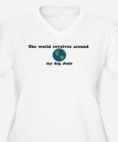 World Revolves Around Josie T-Shirt