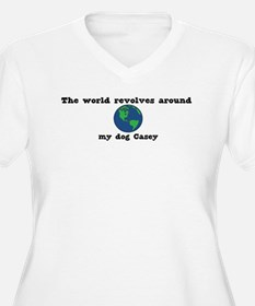 World Revolves Around Casey T-Shirt