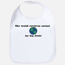 World Revolves Around Jessie Bib