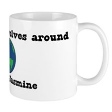 World Revolves Around Jasmine Mug