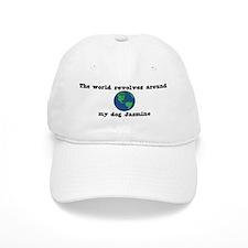 World Revolves Around Jasmine Baseball Cap