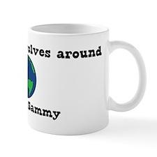 World Revolves Around Sammy Mug