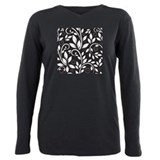 Vintage floral pattern Long Sleeve T Shirts