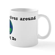 World Revolves Around Bo Mug