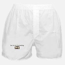 Bo is my homedog Boxer Shorts