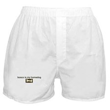 Bosco is my homedog Boxer Shorts