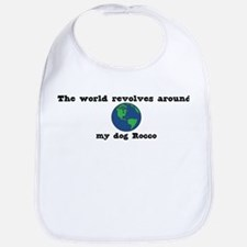 World Revolves Around Rocco Bib