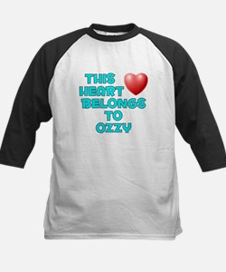 This Heart: Ozzy (E) Kids Baseball Jersey