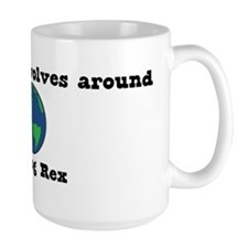 World Revolves Around Rex Mug