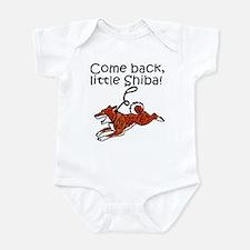 Come Back, Little Shiba Infant Bodysuit