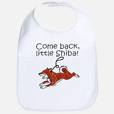 Come Back, Little Shiba Bib