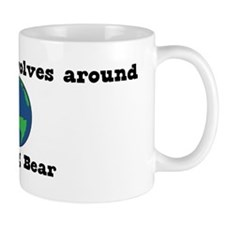 World Revolves Around Bear Mug
