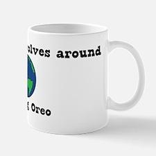 World Revolves Around Oreo Mug