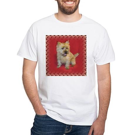 Baby Cairn Terrier White T-Shirt