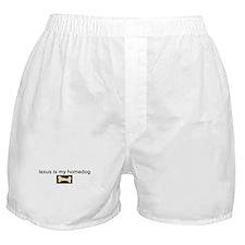 Lexus is my homedog Boxer Shorts