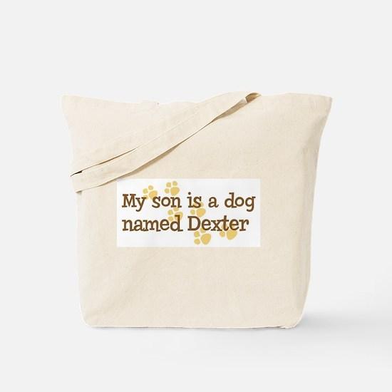 Son named Dexter Tote Bag