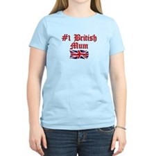 #1 British Mum T-Shirt