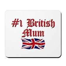 #1 British Mum Mousepad