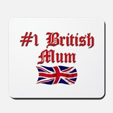 #1 British Mum Mousepad