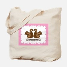 Nuts Over You Tote Bag