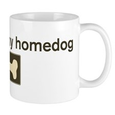 Hershey is my homedog Mug