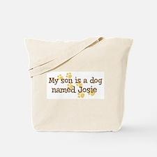 Son named Josie Tote Bag
