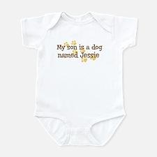 Son named Jessie Infant Bodysuit