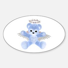 BLUE ANGEL BEAR Oval Decal