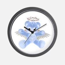 BLUE ANGEL BEAR Wall Clock