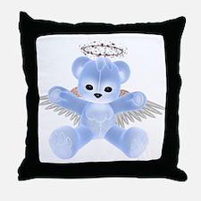 BLUE ANGEL BEAR Throw Pillow